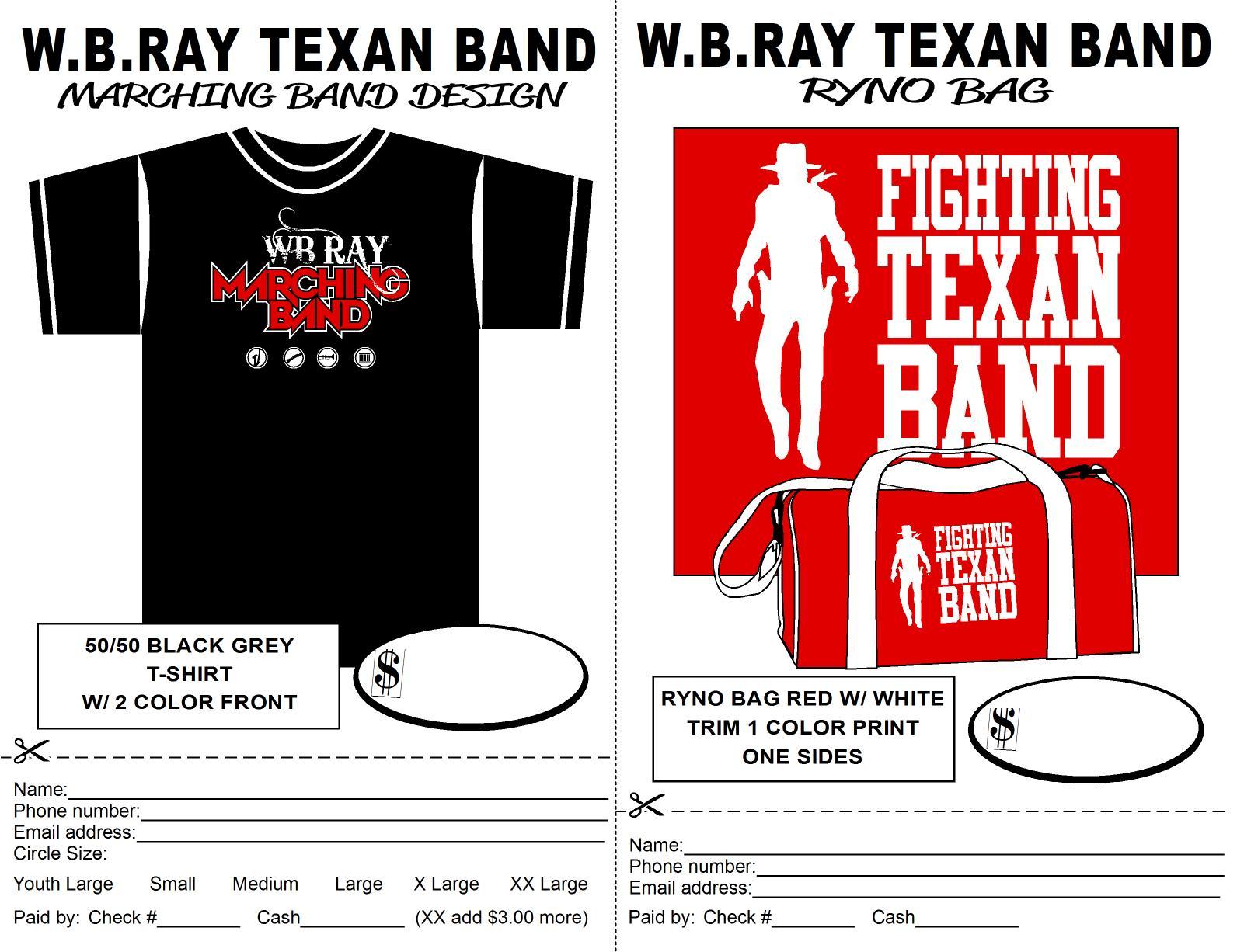 Band Merchandise Wb Ray High School Band